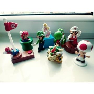 Super Mario Bros figurki z bajki/gry 8 szt