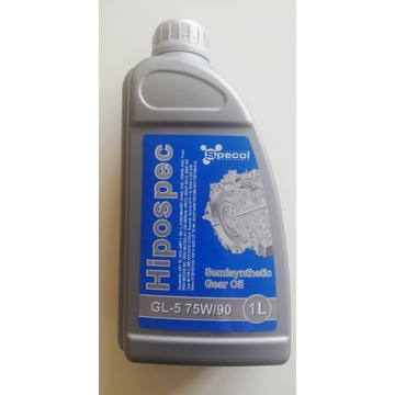 Olej przekładniowy GL-5 75W/90