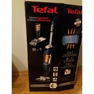Odkurzacz Tefal Steam&Clean 2w1 mop parowy