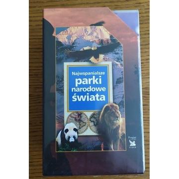 Najwspanialsze parki narod. świata 3 x VHS NOWE!