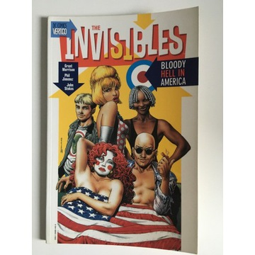 The Invisibles Bloody Hell in America Morrison