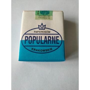 Papierosy POPULARNE KRAKOWSKIE 1994 rok