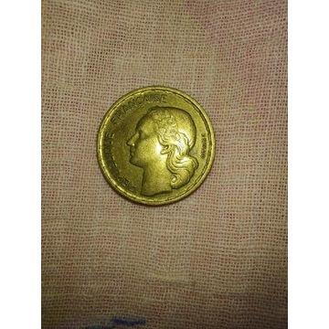10 francs 1952 i 1952B kpl.