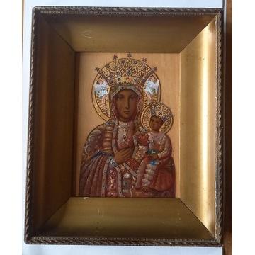 Matka Boska z Dzieciątkiem, olej, oryginał.