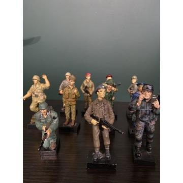 Kolekcja figurki żołnierzy  2 wojny światowej