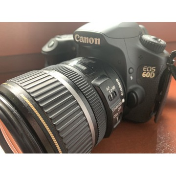 Canon EOS 60D 2 obiektywy + Lampa