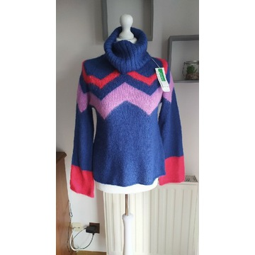 Sweter golf damski United Colors of Benetton XS