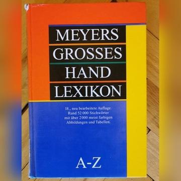 Leksykon - Meyers Handlexikon A-Z wyd 1996