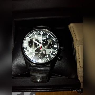 Zegarek pilot Alpina chrino kwarc