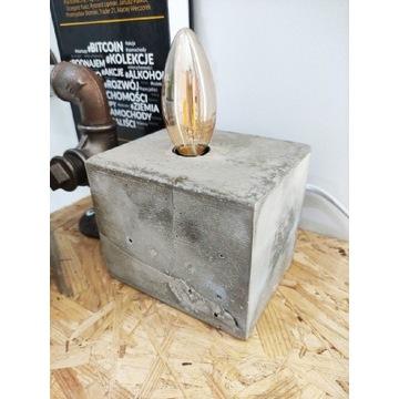 Lampa Betonowa LOFT/Industrial design/Nocna