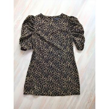 Sukienka czarno- złota