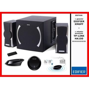 ZESTAW = głośniki EDIFIER XM6PF + TP-LINK HA100