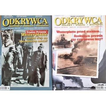 Miesięcznik ODKRYWCA - Westerplatte, Hel, Riese