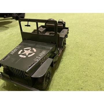 Jeep US army. Metalowy stary model