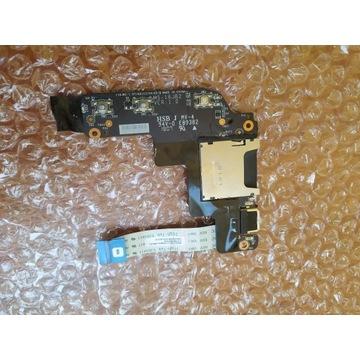 MSI GL62M moduł czytnik kart USB włącznik POWER