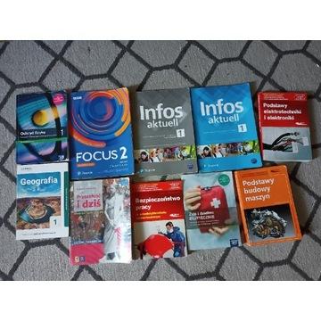 Książki 1 klasa technikum