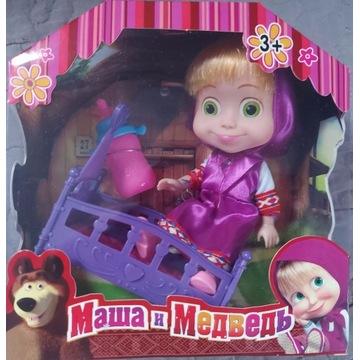 Zestaw Lalka Masza Kołyska dla Dzieci Zabawka