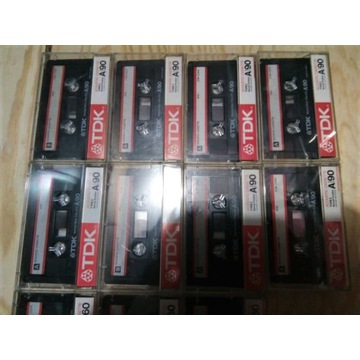 Zestaw 17 kaset magnetofonowych firmy TDK !!!
