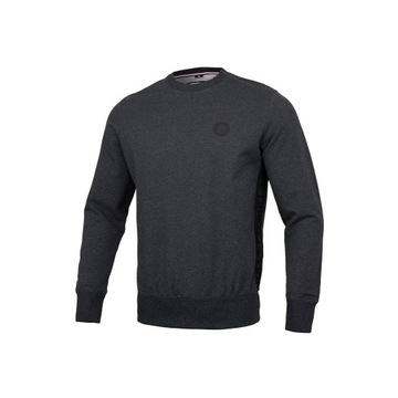 Small Logo Crewneck FRENCH TERRY Charcoal Melange