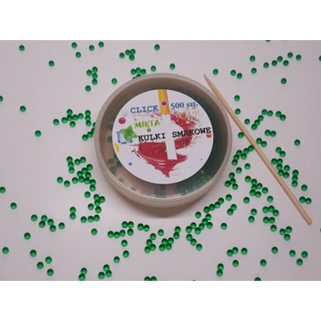 Smakowe kulki do filtra papierosa mięta 500szt zPL