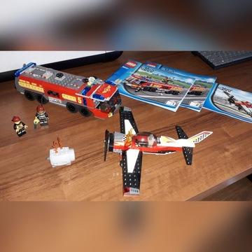 Lego 60061 lotiniskowy wóz strażacki+GRATISsamolot