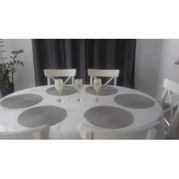 decoupage lampiony ozdoby na stół wielkanocny
