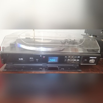 Gramofon Medion z USB + winyl gratis