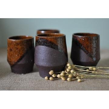 Czarki - zestaw 4 kubeczków handmade