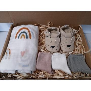 Prezent dla noworodka niemowlaka Baby Shower Mulle