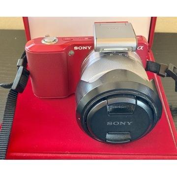 Sony Nex 3 aparat, obiektyw, ładowarka OKAZJA