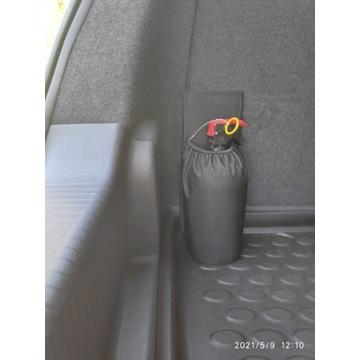 MOCOWANIE GAŚNICY samochodowej (1kg) /Nowe