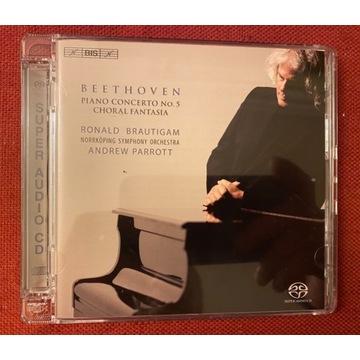 Beethoven Piano Concerto nr 5 CD SACD