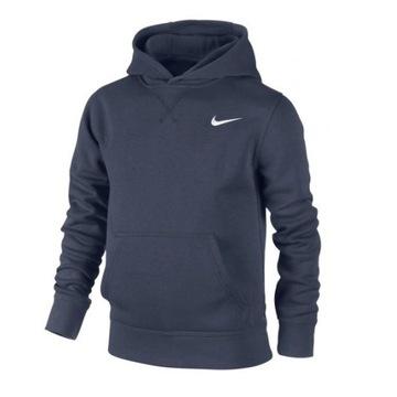 Bluza Nike Hoodie JUNIOR granatowa r.L kangurka