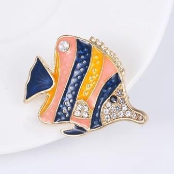 Broszka rybka