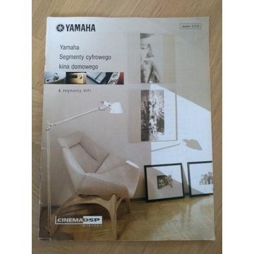 Yamaha segmenty cyfrowego kina domowego 2002