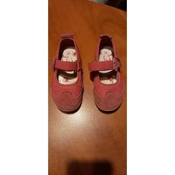 Buty baleriny dziewczęce dla dziewczynki 25