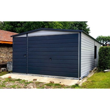 Garaż blaszany RAL 4x7x2m mocna konstrukcja ocynk