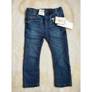 Nowe spodnie jeansowe OVS kids 92 cm 24-30 mcy