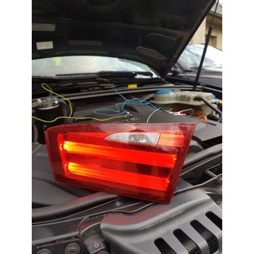 BMW 5 F11 Lampa LED tył prawa bagaznik klapa Kombi