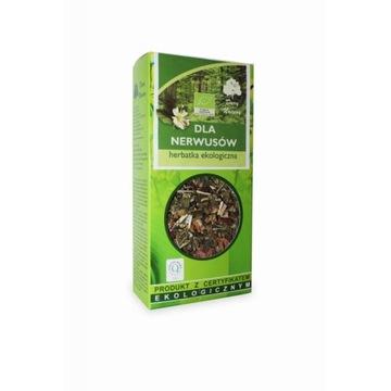 Dla nerwusów, herbatka ekologiczna, Dary Natury