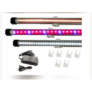 Oświetlenie akwarium led 3X90 CM ZESTAW AMAZONKA