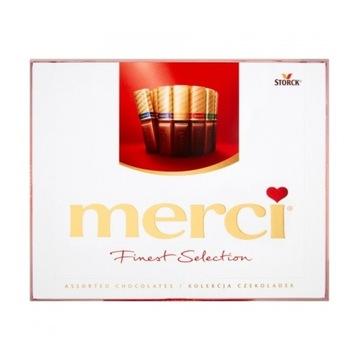 Czekoladki czekolada Merci czerwona 250g