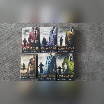 Remigiusz Mróz kolekcja książek NOWE zestaw 6x
