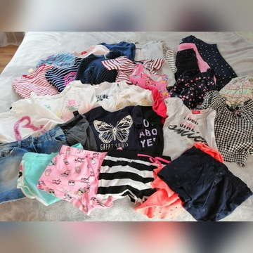 Zestaw ubrań dla dziewczynki 134