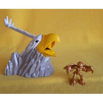 GORMITI Orzeł z otwieranym dziobem + złota figurka