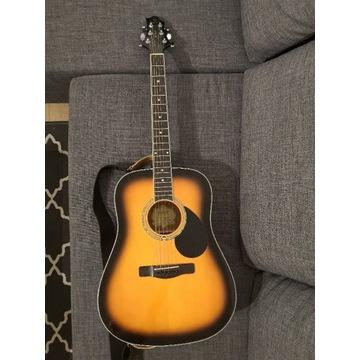 Gitara akustyczna Samick GD-100S/VS + przetwornik