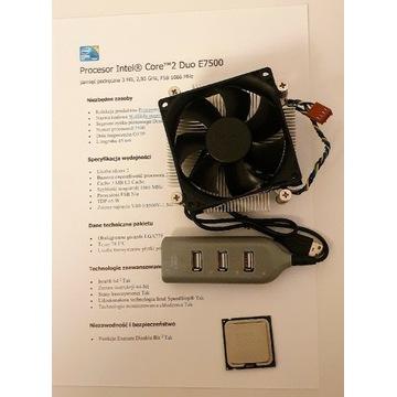 Intel Core 2 Duo E7500, 2x2.93GHz, LGA775, 3MB