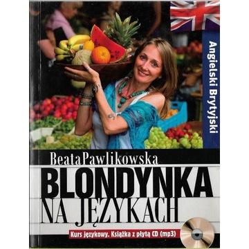 Blondynka na językach Angielski brytyjski +CD