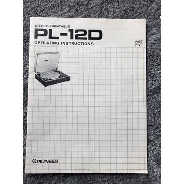 Pionier PL12D instrukcje