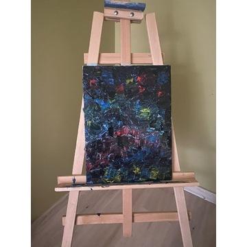 Obraz 30x40cm, ręcznie malowany, akwarela.
